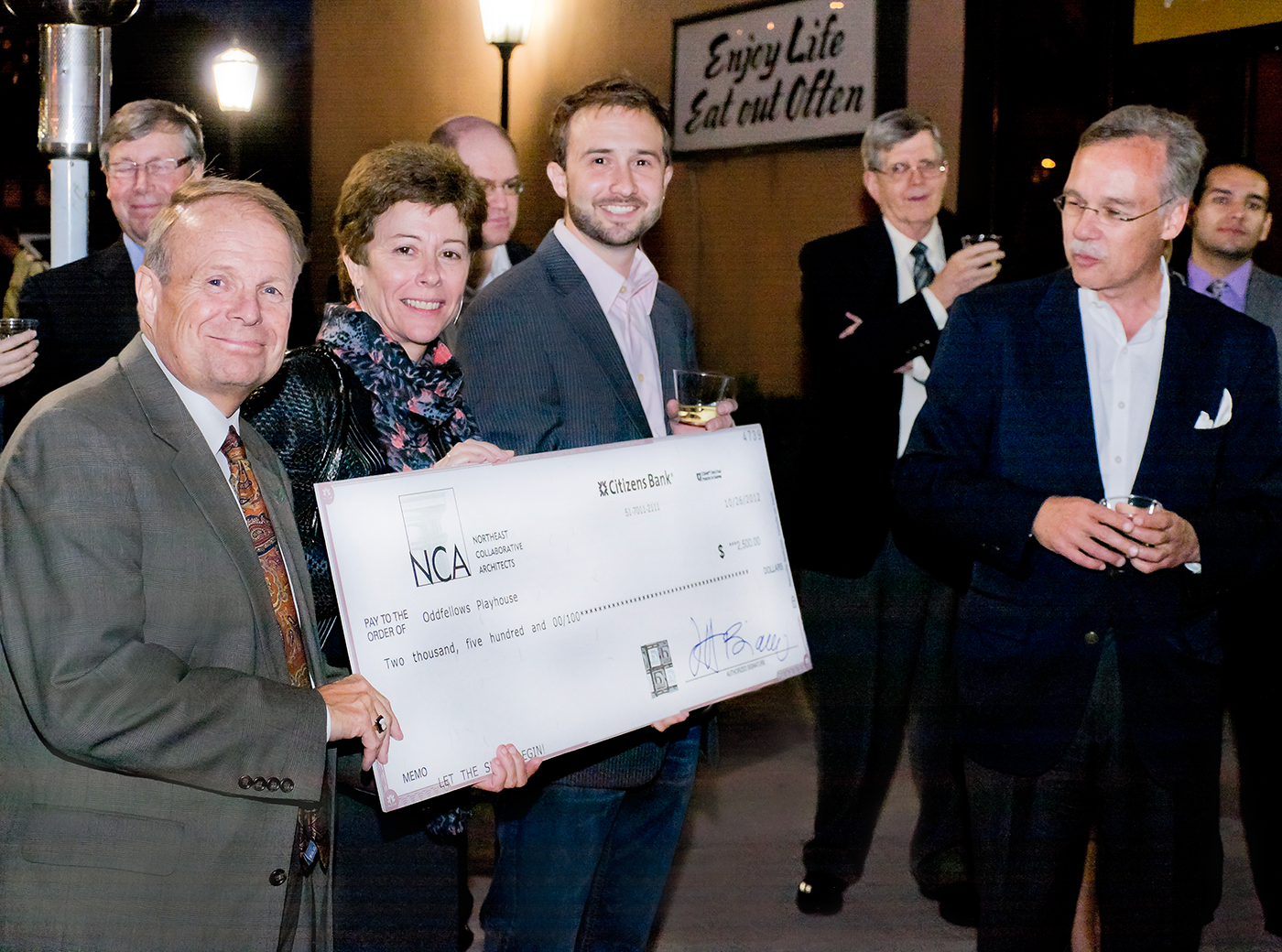 NCA Supports Oddfellows Playhouse