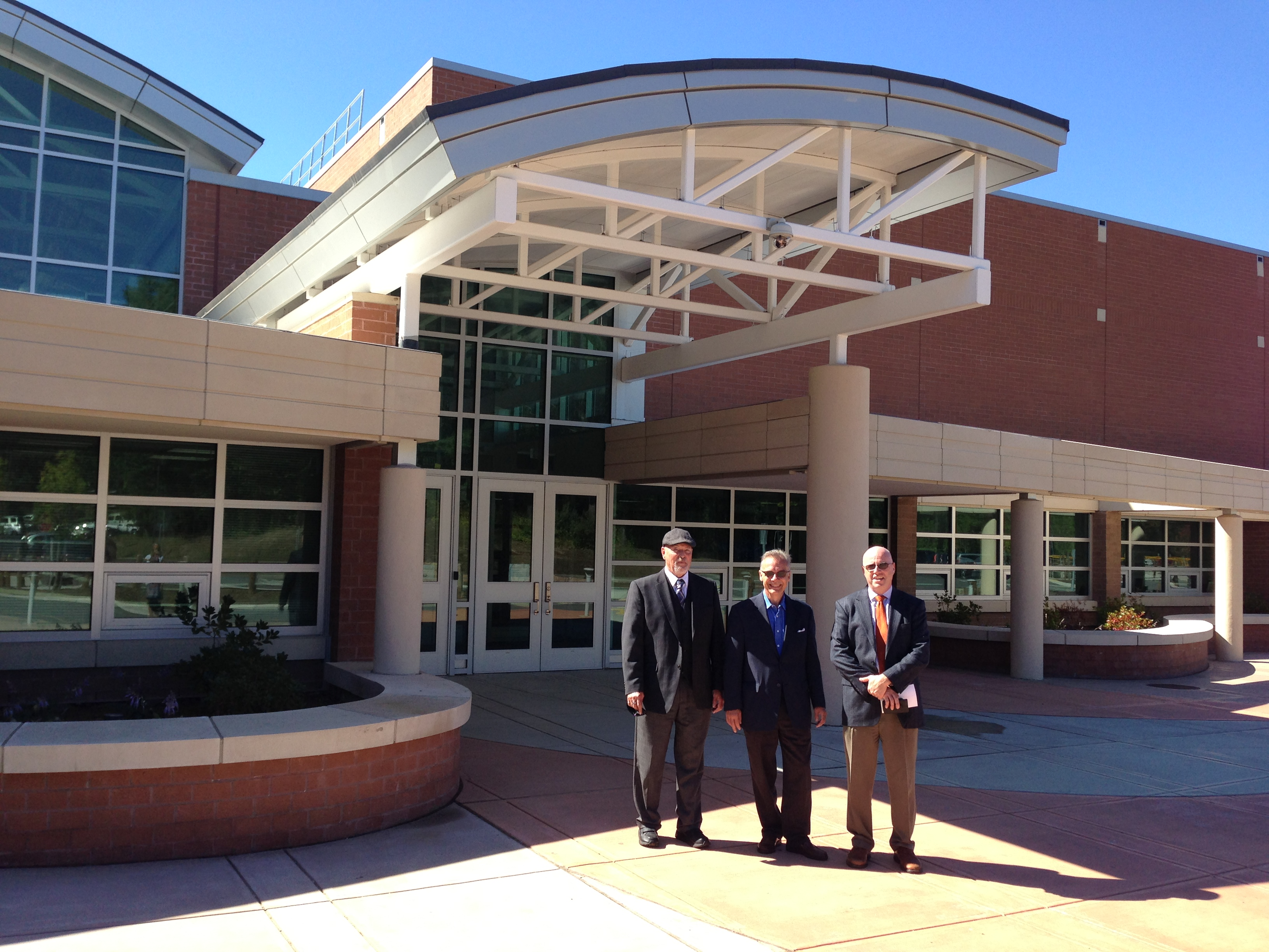 Lyme/Old Lyme High School Holds Ribbon Cutting Ceremony