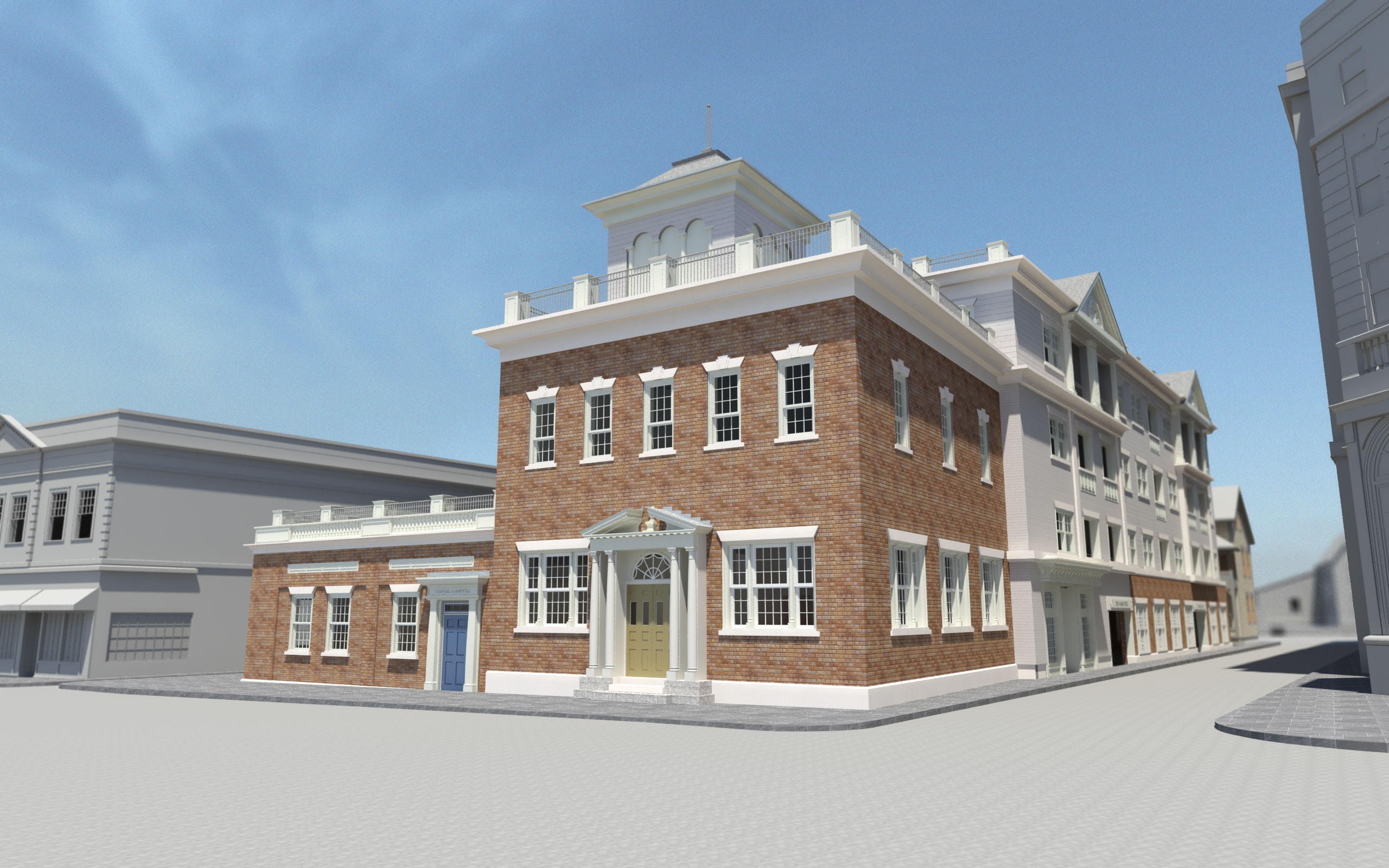 Nca plans to transform historic exchange building into a for Hotel building design