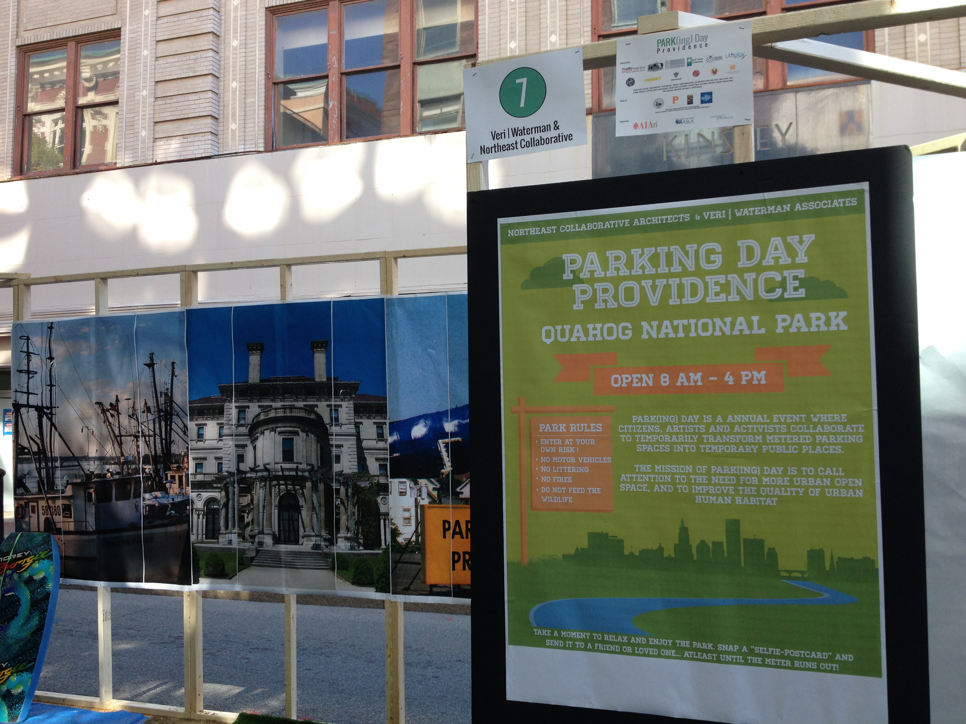 NCA Participates in Park (ing) Day Providence
