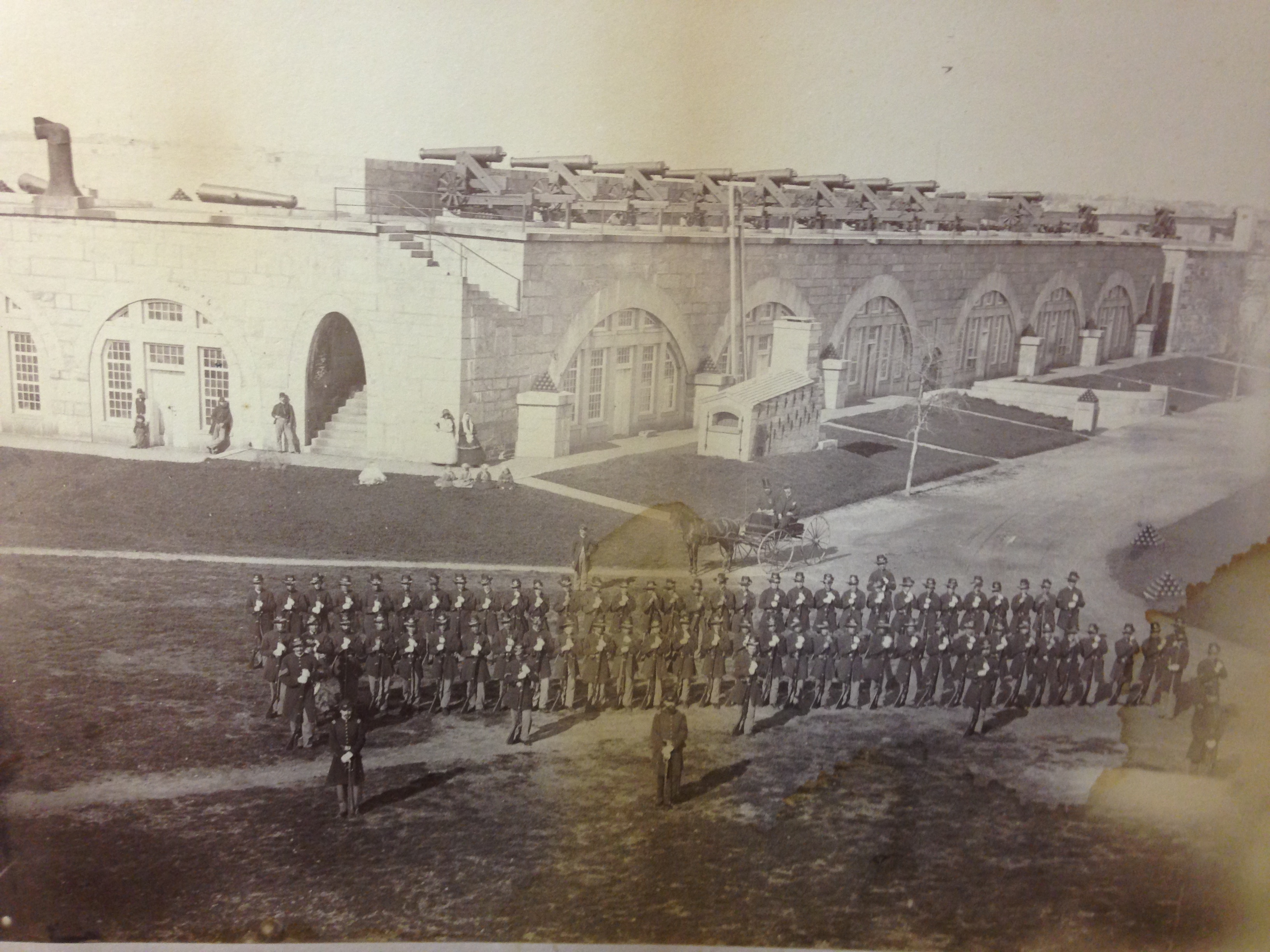 NCA Discovers and Donates Rare Image to Fort Adams Trust