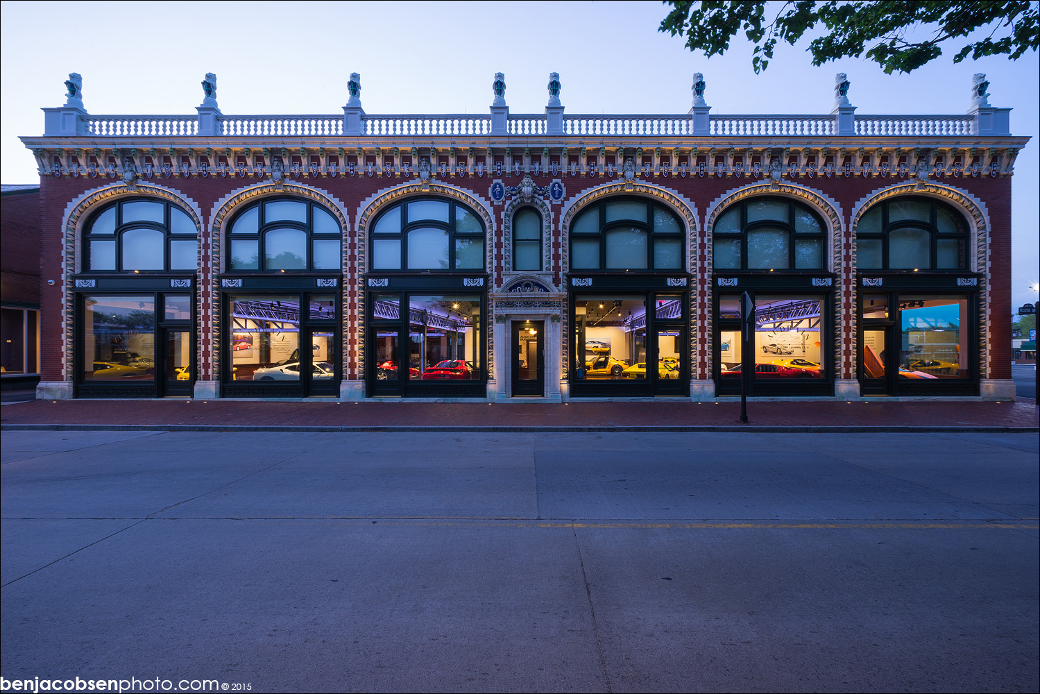 Audrain Building Wins 2015 Doris Duke Historic Preservation Award