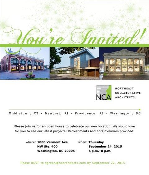 NCA Celebrates New Washington, DC Office with an Open House on September 24, 2015
