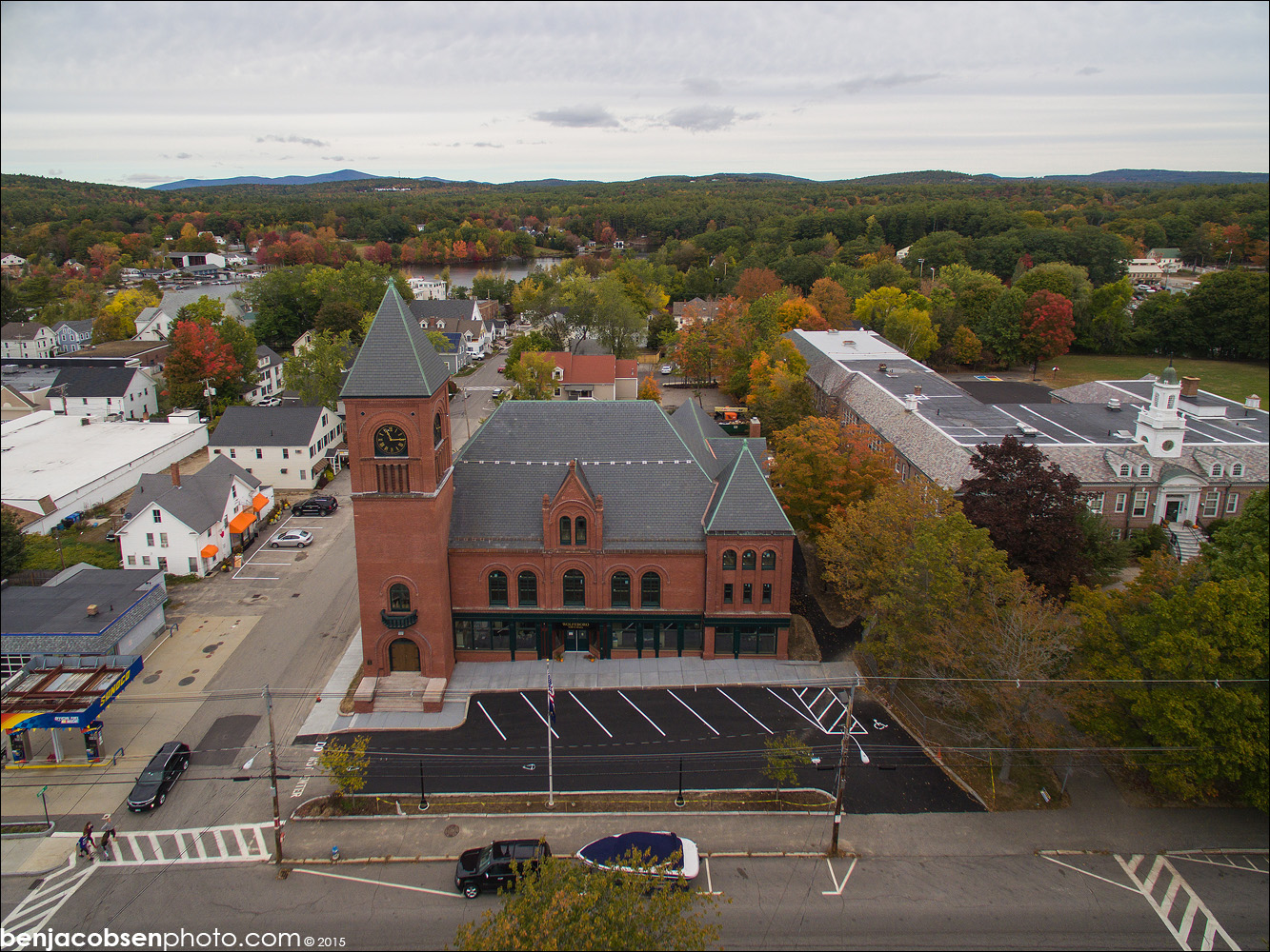 NCA Restores Wolfeboro Town Hall