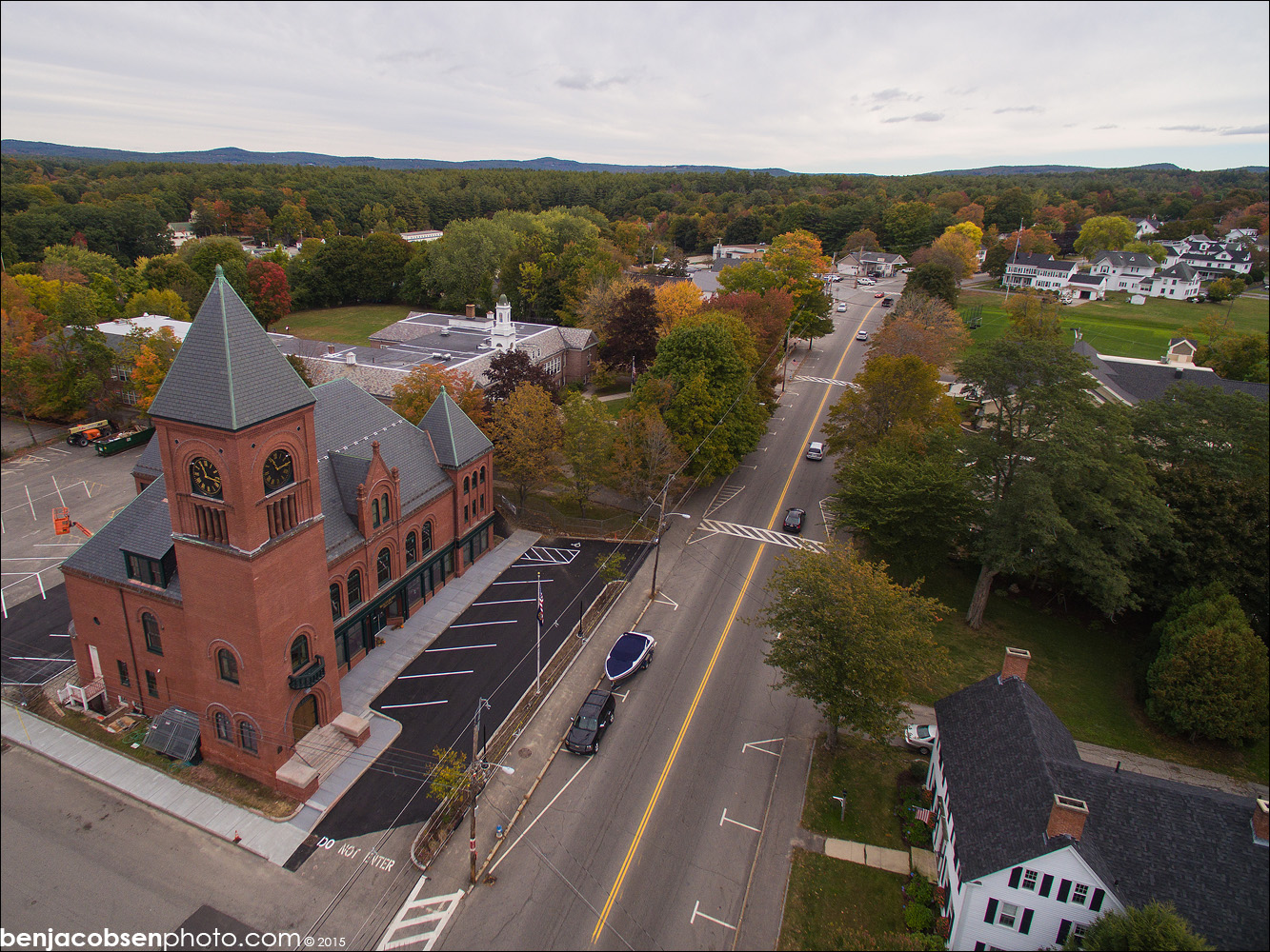 Wolfeboro Town Hall Earns 2016 New Hampshire Preservation Achievement Award