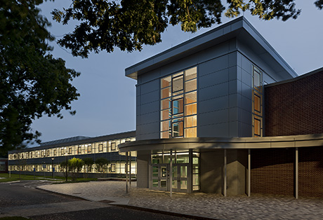 Connecticut Green Building Council Awards JM Wright Technical High School a 2016 Institutional Award of Merit